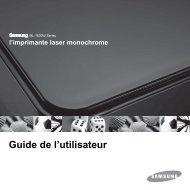 Samsung 16ppm Imprimante laser mono ML-1630W (ML-1630W/SEE ) - Manuel de l'utilisateur 6.59 MB, pdf, Français