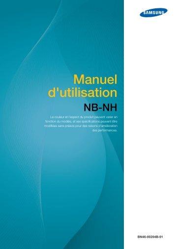 Samsung NB-NH (LF-NBNHNN/EN ) - Manuel de l'utilisateur 3.84 MB, pdf, Français