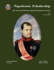 Napoleonic Scholarship