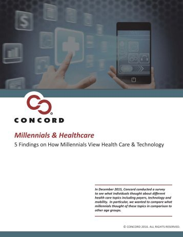 Millennials & Healthcare