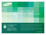 Samsung PL151 (EC-PL151ZBDLE1 ) - Guide rapide 3.82 MB, pdf, Anglais, Français, Espagnol