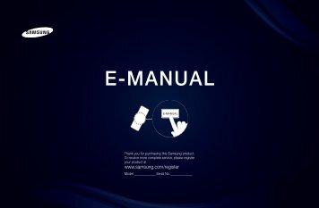 """Samsung 40"""", UE40D6300WXZF, série 6, SMART TV, 3D, FULL HD, LED TV (UE40D6300SSXZF ) - Manuel de l'utilisateur 15.31 MB, pdf, Anglais"""