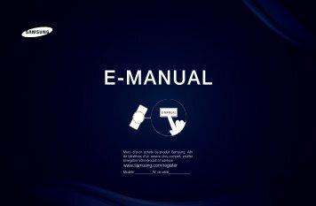 """Samsung 40"""", UE40D6500WXZF, série 6, SMART TV, 3D, FULL HD, LED TV (UE40D6500VSXZF ) - Manuel de l'utilisateur 13.53 MB, pdf, Français"""