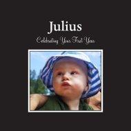 Julius's First Year Book