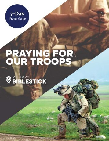 PRAYING FOR OUR TROOPS