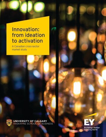 Innovation from ideation to activation