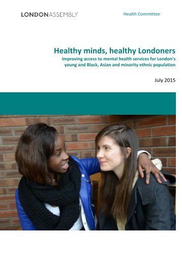 Healthy minds healthy Londoners