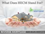 What Does HECM Stand For ? - Z Reverse Mortgage
