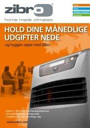 HOLD DINE MÅNEDLIGE UDGIFTER NEDE - Zibro