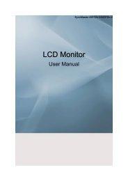 Samsung 460TSN-2 (LH46TCUMBC/EN ) - Manuel de l'utilisateur 3.5 MB, pdf, Anglais