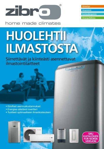 HUOLEHTII ILMASTOSTA - Zibro