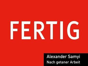 Alexander Samyi - Arbeiterkammer Kärnten