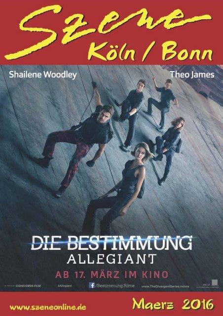 Szene Köln-Bonn, Ausgabe 03.2016