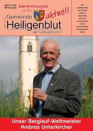 bürgermeister - Gemeinde Heiligenblut