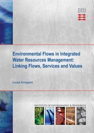 Environmental Flows in Integrated Water Resources ... - Fiva