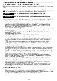 Whirlpool Forno elettronico 6 funzioni, linea Ambient AKPM 758/NB - Tabella programmi_Italiano