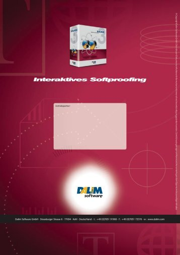 Interaktives Softproofing - Imagicmuc