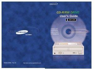 Samsung SW-208F (SW-208FE ) - Manuel de l'utilisateur 0.62 MB, pdf, Anglais
