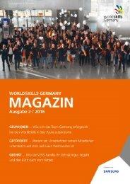WorldSkills Germany Magazin Februar 2016