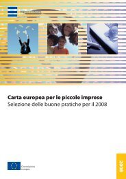 Carta europea per le piccole imprese - Documenti