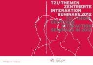 tzi/themen zentrierte interaktion seminare 2012 tci/theme centered ...