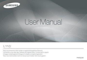 Samsung L110 (EC-L110R01KFR ) - Manuel de l'utilisateur 7.63 MB, pdf, Français