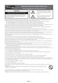Samsung TV LED 43'', Full HD, 400 PQI - UE43J5600 (UE43J5600AWXZF ) - Guide rapide 14.06 MB, pdf, Anglais, NÉERLANDAIS, Français, ALLEMAND - Page 2