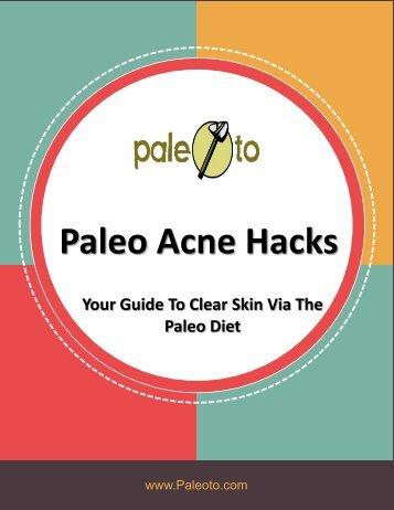 Paleo Acne Hacks