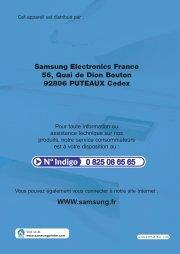 Samsung SCX-5315F (SCX-5315F/XEF ) - Manuel de l'utilisateur 7.44 MB, pdf, Français