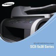 Samsung 30ppm Multifonction laser mono SCX-5530FN (SCX-5530FN/XEF ) - Manuel de l'utilisateur 8.29 MB, pdf, Français