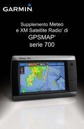 Garmin GPSMAP740s/GMR18HD Bundle - Supplemento