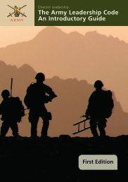 The Army Leadership Code An Introductory Guide