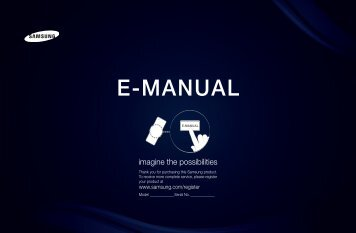 Samsung HE40A (LH40HEPLGD/EN ) - Manuel de l'utilisateur 5.26 MB, pdf, Français