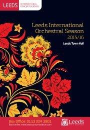 Leeds International Orchestral Season