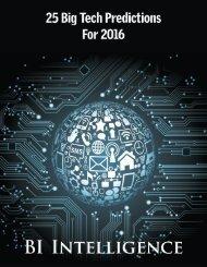25 Big Tech Predictions For 2016