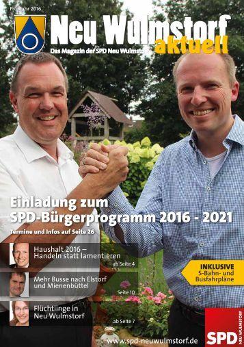 Neu Wulmstorf aktuell Ausgabe Frühjahr 2016