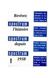 Spectrum History