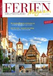 Ferienmagazin Deutschland 2016