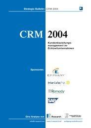 Strategic Bulletin: CRM 2004 Sponsoren - InterSalesPro