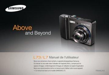 Samsung L73 (EC-L73ZZBBA/DE ) - Manuel de l'utilisateur 8.49 MB, pdf, Français