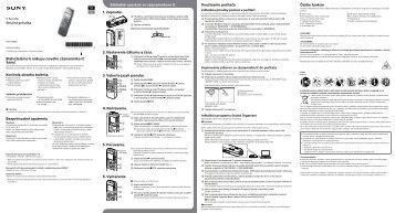 Sony ICD-PX440 - ICD-PX440 Mode d'emploi Slovénien