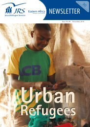 NEWSLETTER - JRS Eastern Africa - English