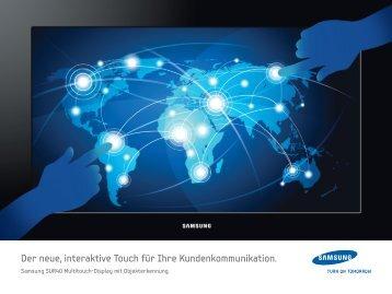 Der neue, interaktive Touch für Ihre ... - Samsung
