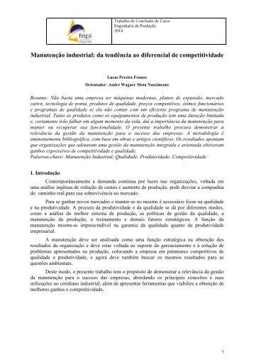 Manutenção industrial: da tendência ao diferencial de competitividade