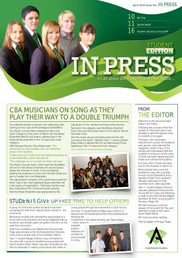 14649 CBA In-press-Issue-10.indd - Corby Business Academy