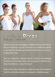Cocktail Divas - Edel, sexy & interaktiv!