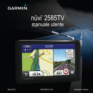 Garmin nüvi® 2585TV, MapSource Product Creator - Manuale Utente