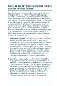 Programmes de counseling pour les hommes violents dans les ... - Page 7