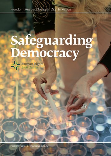 Safeguarding Democracy