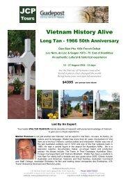Vietnam History Alive